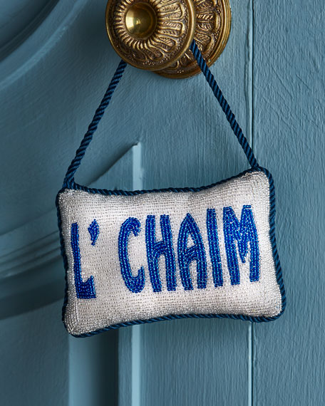 L'chaim Door Knocker