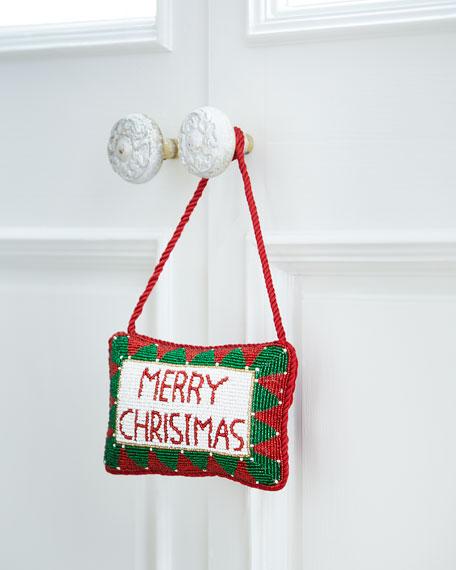 Merry Christmas Door Knocker