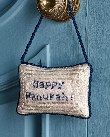 Happy Hanukah Door Knocker