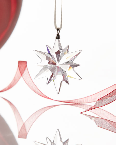 Swarovski 2017 Annual Edition Small Star Ornament