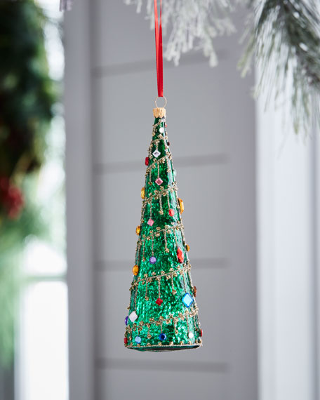 Red & Green Collection Tree Ornament