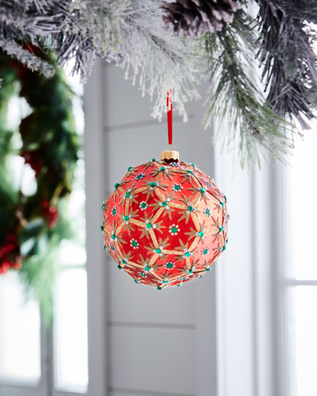 Red & Green Collection Ornament, 5