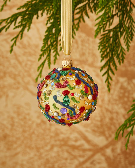 Embellished Ball Ornament