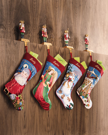 Toy Soldier Stocking Holder, Dagger Up