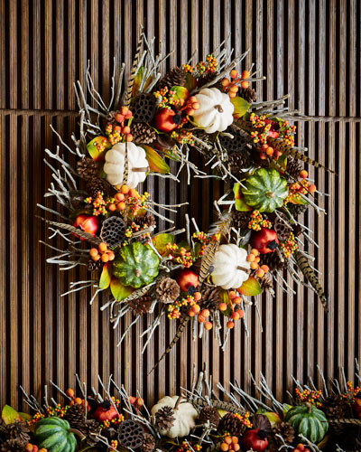 Fall Gatherings Collection Wreath