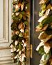 Gold & Glitter Collection 6' Magnolia Garland