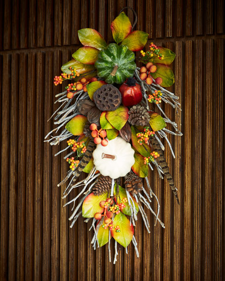 Fall Gatherings Collection Door Spray