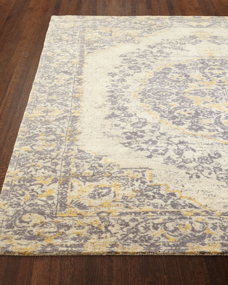 Eleanor Loomed Rug, 8' x 10' and Matching