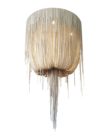 Round Medium Urchin Chandelier