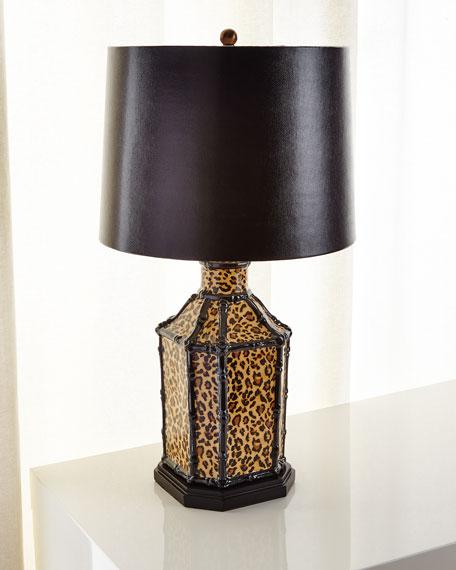 Port 68 Amelia Leopard Lamp