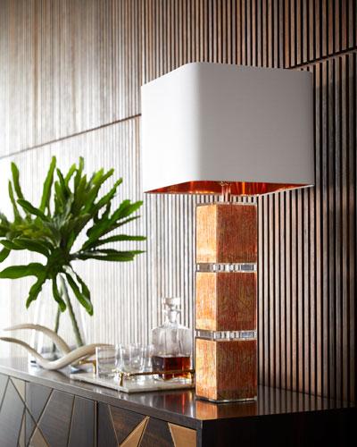 Cooper Leaf Table Lamp