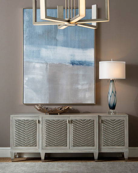 John-Richard Collection Sparrow Weave Console