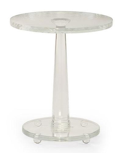 Demetra Glass Side Table