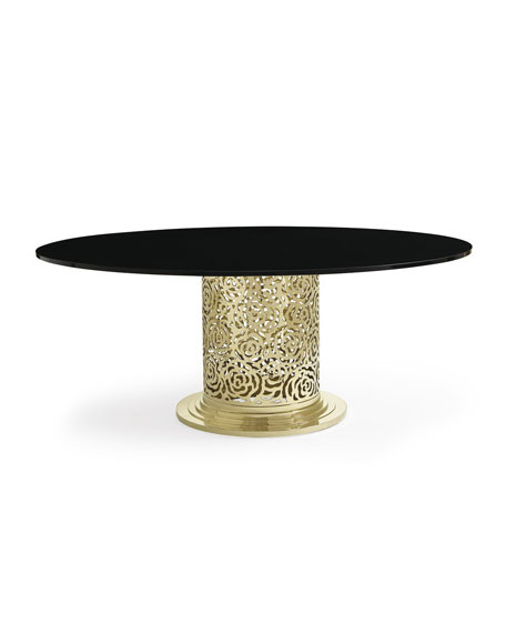 Golden Rose Dining Table