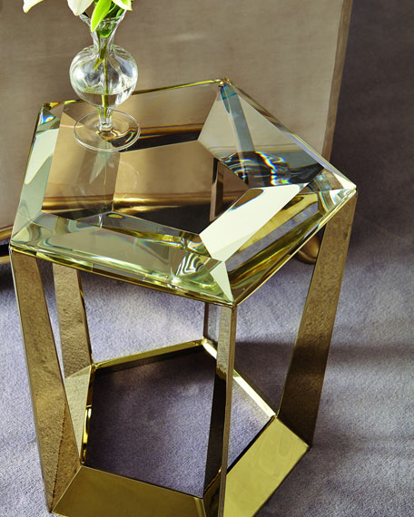 Caracole Gemstone Side Table Neiman Marcus