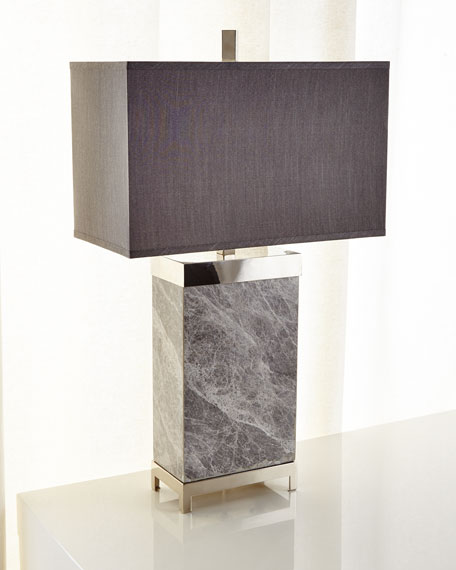 John-Richard Collection Marble Lamp