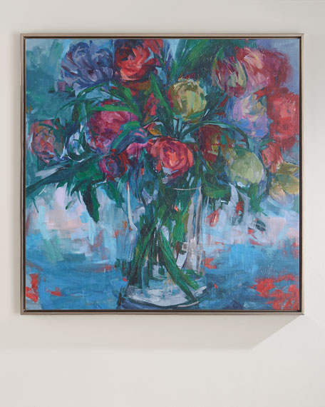 """""""With Regards"""" Giclee on Canvas Framed Art"""