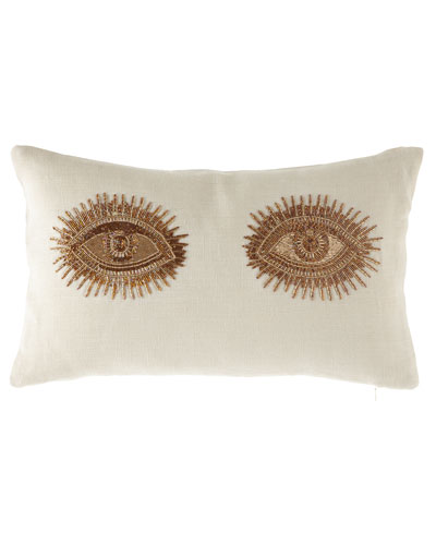 Muse EyesThrowPillow