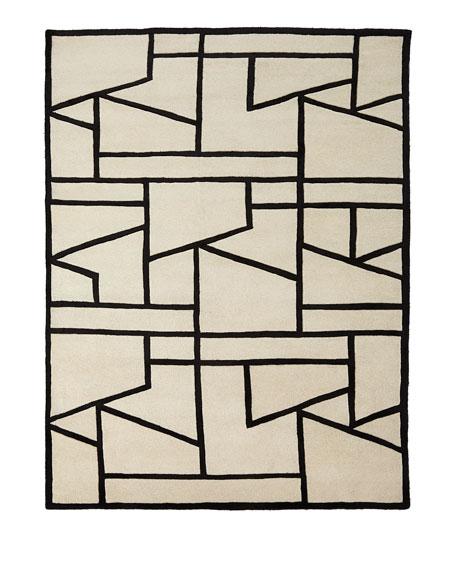 Penn Hand-Tufted Rug, 5' x 8'
