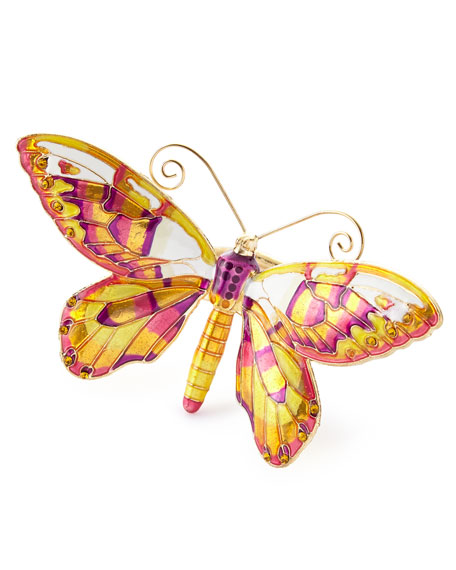 Kim Seybert Butterfly Napkin Rings, Set of 4
