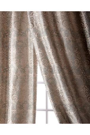 "Creative Threads Abound Taffeta Curtain, 96"""