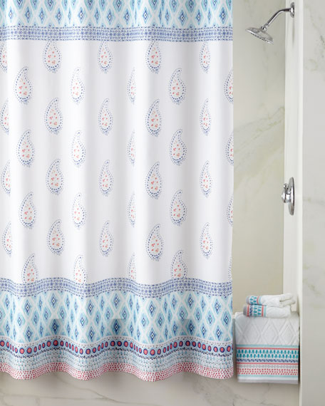 Dena Home Boho Shower Curtain