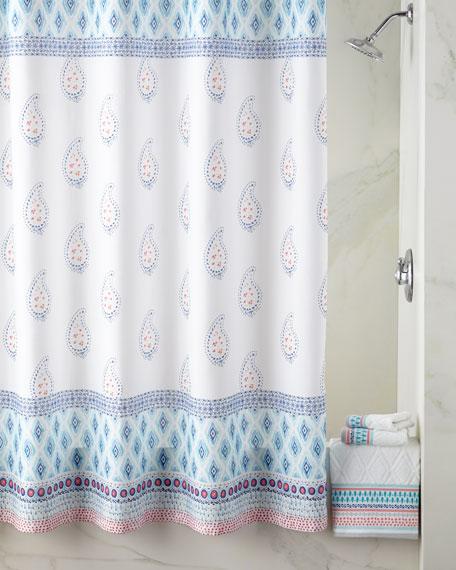 Dena Home Boho Shower Curtain Neiman Marcus