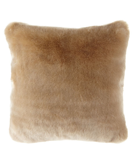 Polar Luxe Faux Fur Pillow