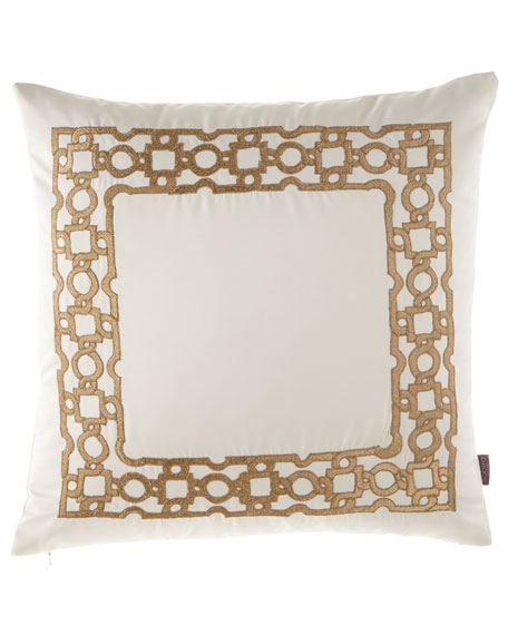 Collett Embroidered Pillow