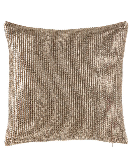 Seffina Hand Beaded Pillow