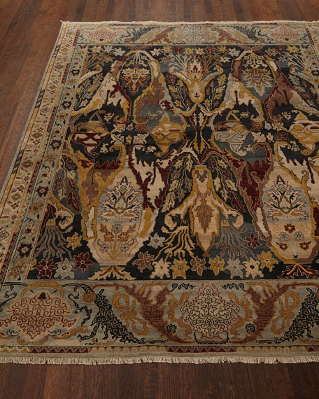 Exquisite Rugs Hamilton Hand-Knotted Rug, 8' x 10'