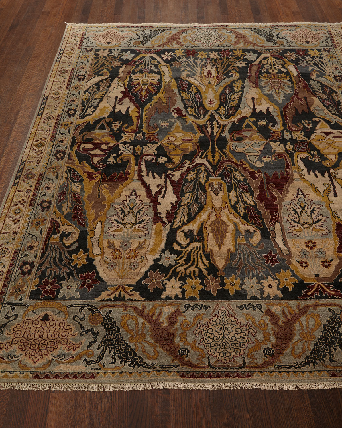 Exquisite Rugs Hamilton Hand Knotted Rug 10 X 14