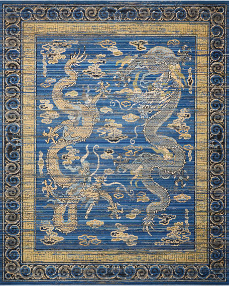Dynasty Rug, 9.3' x 13'