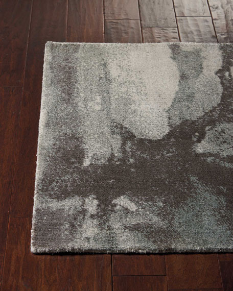 Misty Shadow Doormat, 2.3' x 3'