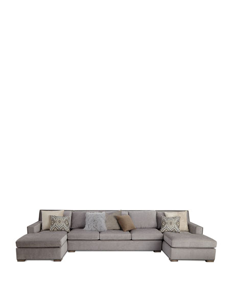 Jourdan Double Chaise Sectional