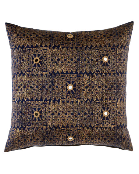 "Sitala Pillow, 20""Sq."