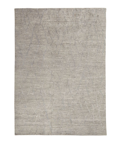 "Ling Hand-Knotted Rug, 8'6"" x 11'6"""