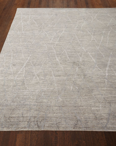 """Ling Hand-Knotted Rug, 9'9"""" x 13'9"""""""