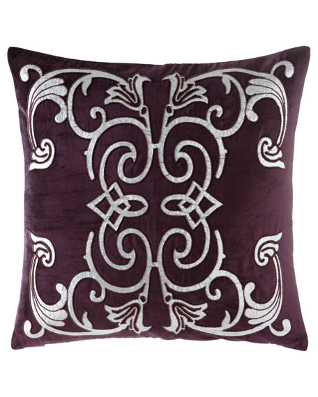 Lili Alessandra Mozart Plum Pillow, 24