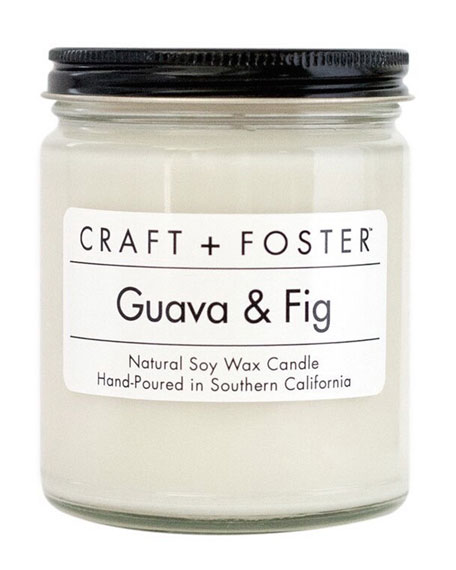 Craft + Foster Guava & Fig Candle, 8