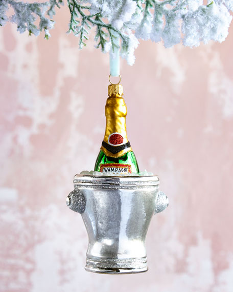 2018 Champagne Bucket Ornament