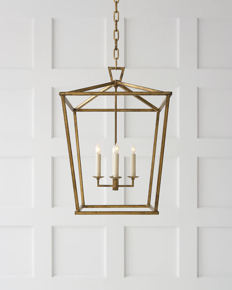 Darlana Two Tiered Ring Chandelier: Visual Comfort Darlana Medium Lantern