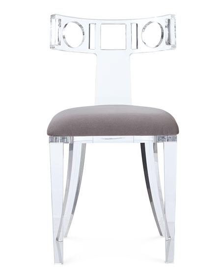 Hepburn Acrylic Accent Chair