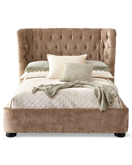 Sheba Tufted Bed, King