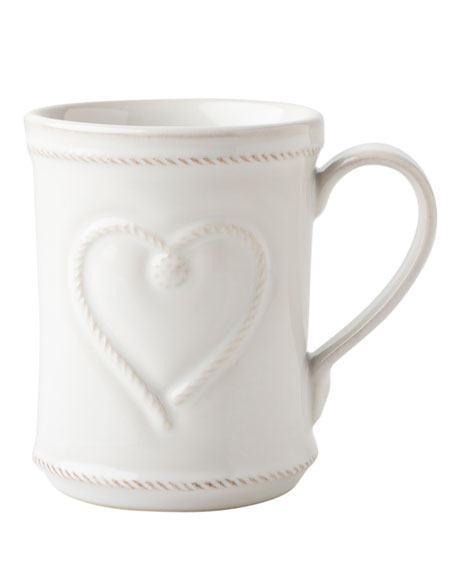 Juliska Berry & Thread Whitewash Cup Full of