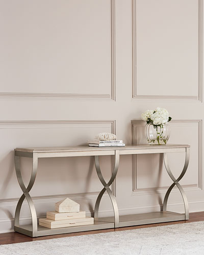 Sabeen Scrolled Console Table