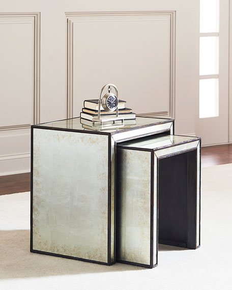 Garth Eglomise Nesting Tables