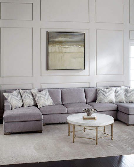 Delicieux Raphael Double Chaise Sectional