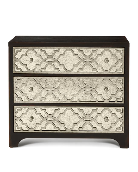 Justine Fretwork Three-Drawer Chest