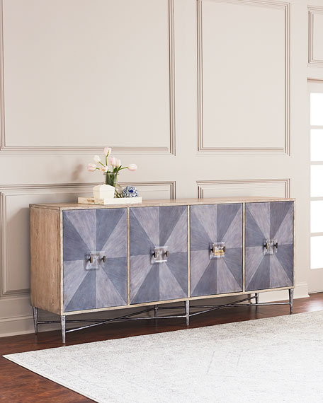 Hooker Furniture Marilyn Four-Door Console
